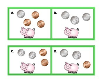 Money Scoot/ Task Cards