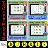 Money search with coins CANADA BUNDLE (BOOM digital resour
