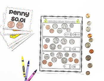 Money- Second Grade Common Core 2.MD.C.8