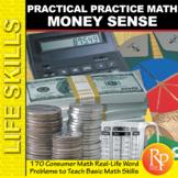 Money Sense: Practical Math Word Problems