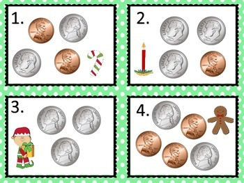 Money Sets--Christmas Theme