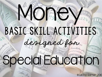 Money-Basic Skills Activities-Special Education