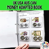 Money Activities Adapted Book - UK, USA, CAN, AUS