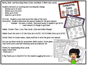 Money Skills: Count and Compare money