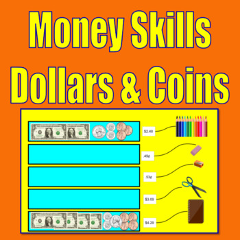 Money Skills for 2nd Graders and 3rd Graders