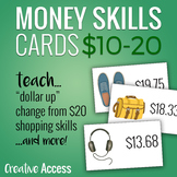 Money Skills for Teens: 30 Product Cards from $10-20. Grea
