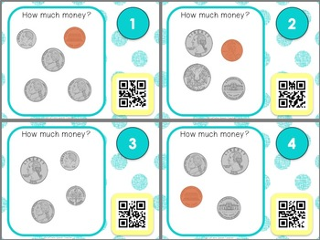 Money Skills with QR Codes