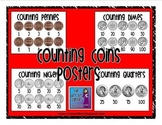 Money Skip Counting Posters