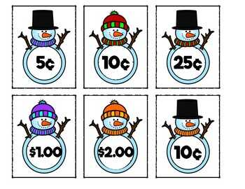 Money Snowmen