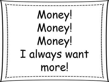 """""""Money Song"""" PowerPoint presentation (Dr. Jean)"""