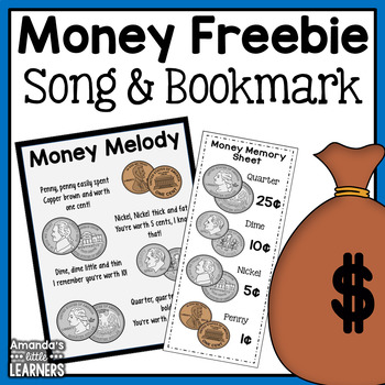 Money Song and Bookmarks - Free