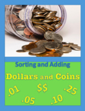 Money: Sort and Count Dollars and Coins (QDNP)