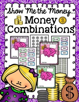 Money Sorting Mats-Math Center Activity