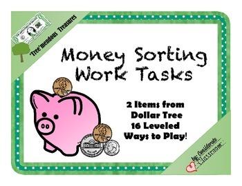 Money Sorting Work Task