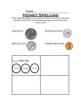Money Spelling