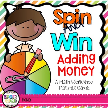 Money Spin and Win {Math Workstation}
