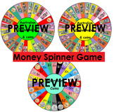 Money Spinner Games (Australian notes and coins) #ausbts18