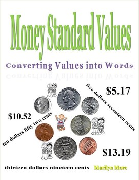 Money Standard Values Converting Values into Words