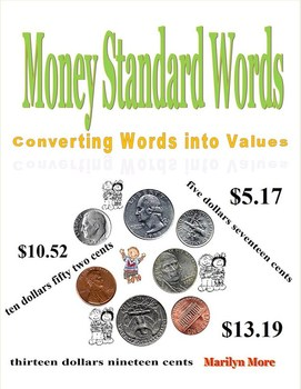 Money Standard Words Converting Words into Value