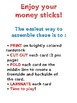 Money Sticks - Counting Money - Self Checking