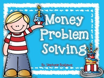 Money Story Problems (Party Theme)