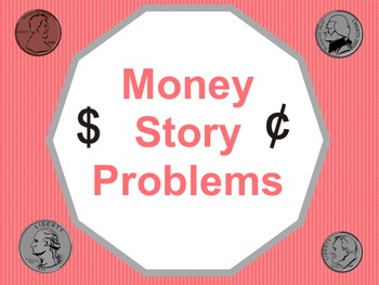 Money Story Problems SmartBoard Lesson