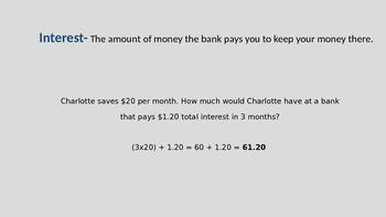Money. TEK 4.10