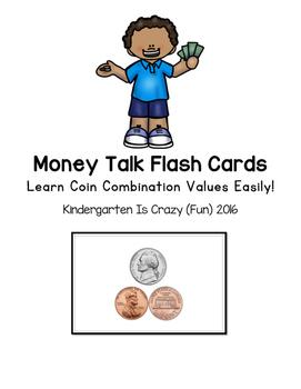 Kindergarten Money Flash Cards