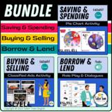 Money Bundle: Speaking, vocabulary activities, templates o