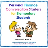 (ELE) Personal Finance Conversation Starters for Little Kids: Financial Literacy