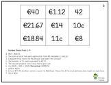 Money Target Boards (€)