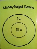 Money Target Game:  Five Levels of Coin Counting Fun!
