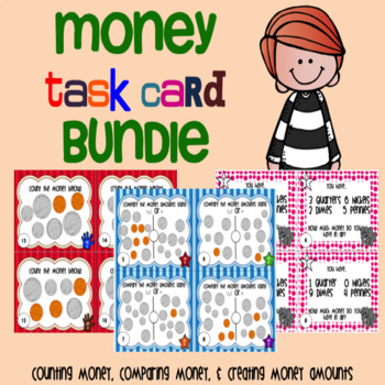 Money Task Card Bundle