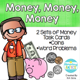 Money Task Cards 2.MD.C.8 {CCSS Aligned}