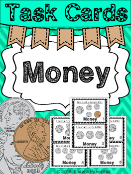 Money Task Cards {Coins}