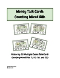 Money Task Cards: Featuring 20 Multiple Choice Task Cards