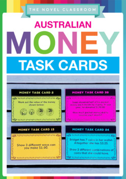 Money Task Cards - Financial Math Problems