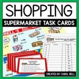 Money Word Problems Task Cards The Supermarket