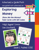 Money Task Cards - Show Me the Money Differentiated Math Center Cards