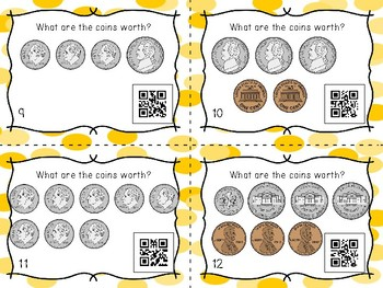 Money Task Cards to $.99
