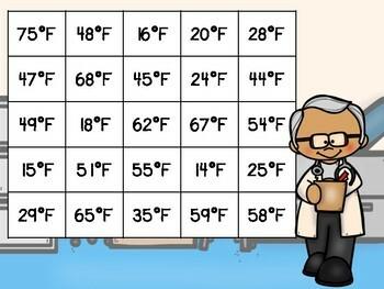 Money & Temperature Independent Center Game #3