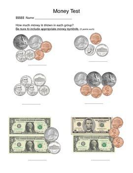 Money Test, Common Core Based