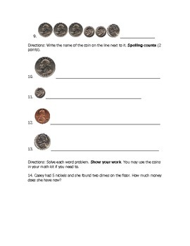 Money Test within $1.00