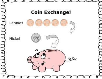 Money! The Basic Coin Exchange Game!