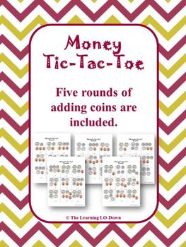 Money Tic Tac Toe Game