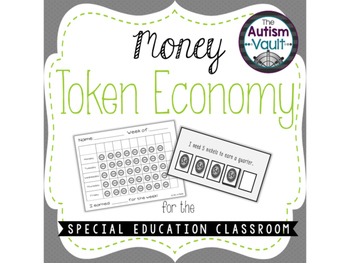 Money Token Economy for Special Education SAMPLE
