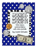 Money: Total Value & Word Problems
