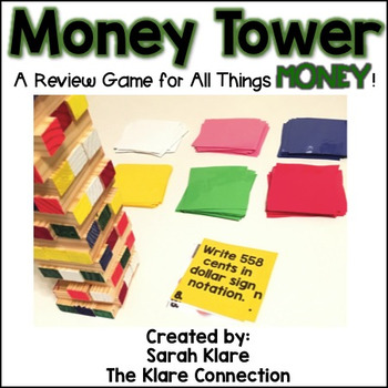 Money Tower {All Things Money Review Game}