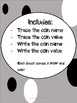 Money Trace & Write Worksheets