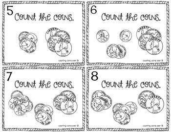Money - U.S. Coins and Change - Task Cards - 3 sets! - 1st/2nd CCSS